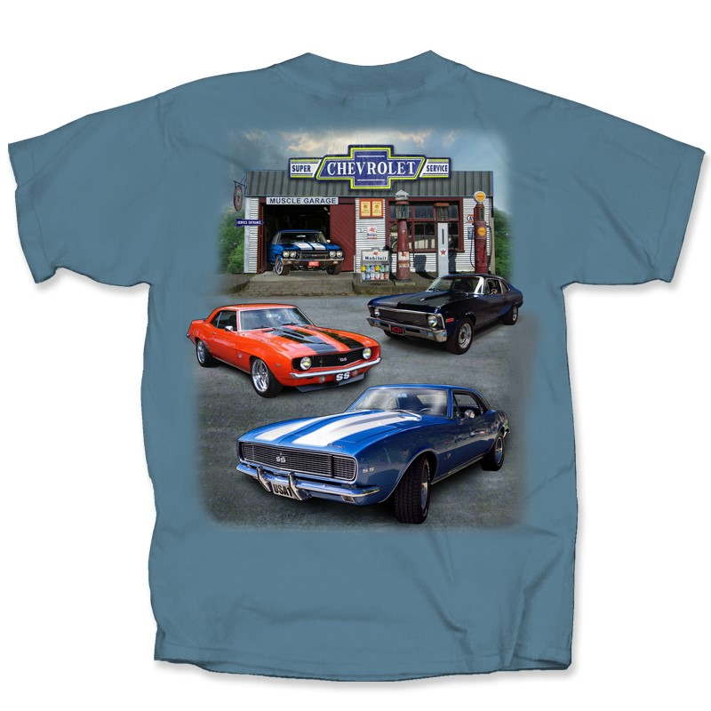 CHEVY MUSCLE COLLECTION | Joe Blow Tees
