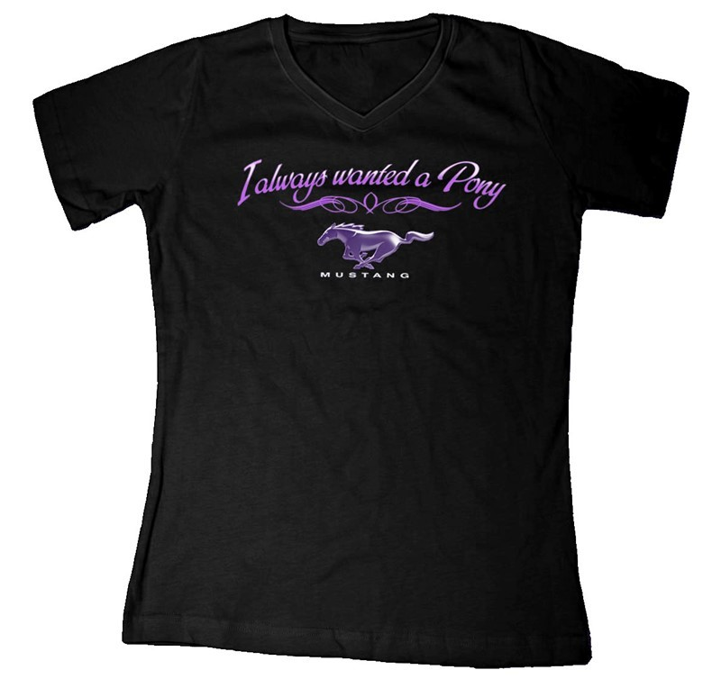 LADIES I ALWAYS WANTED A PONY | Joe Blow Tees