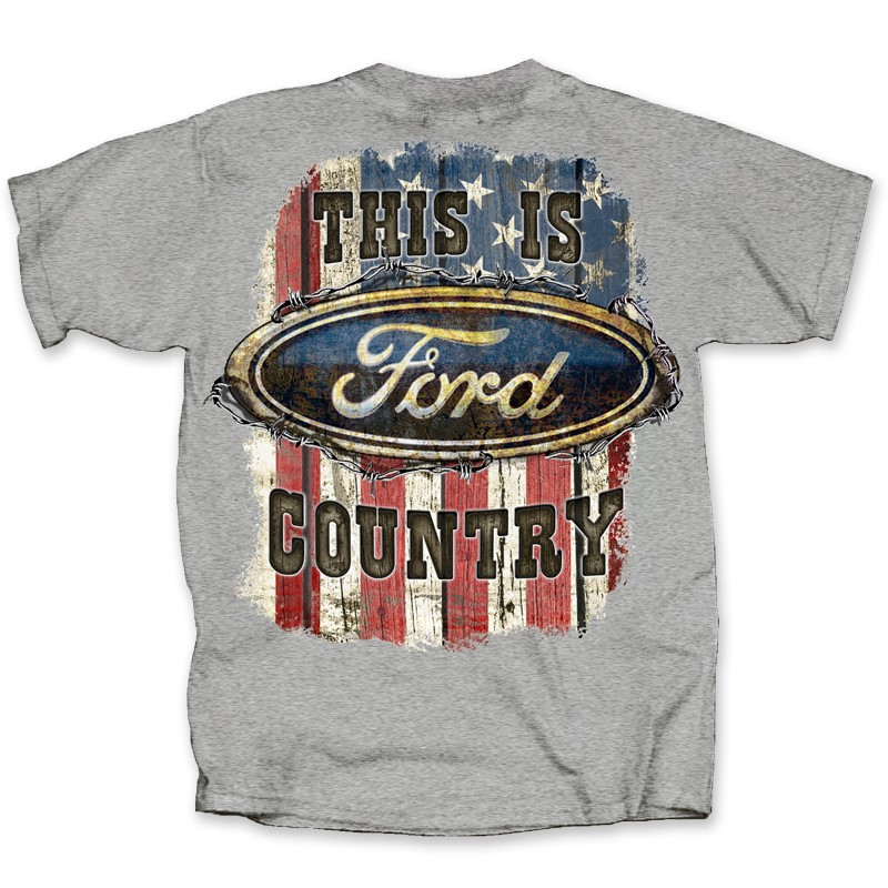 THIS IS FORD COUNTRY  | Joe Blow Tees