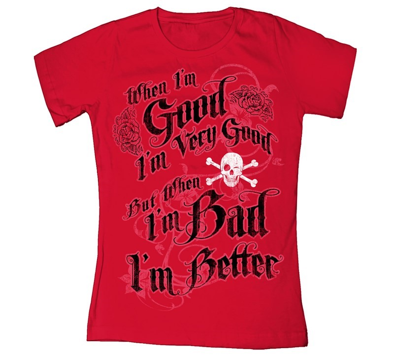 PIRATE WHEN I'M GOOD I'M VERY GOOD | Joe Blow Tees