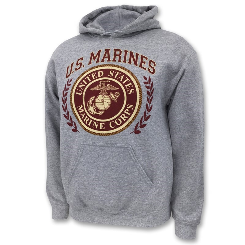 MARINE SEMPER FI LAUREL LEAF  | Joe Blow Tees