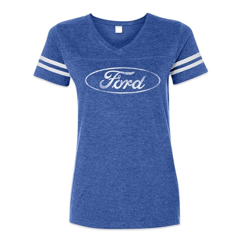 FORD OVAL STRIPED-TEE