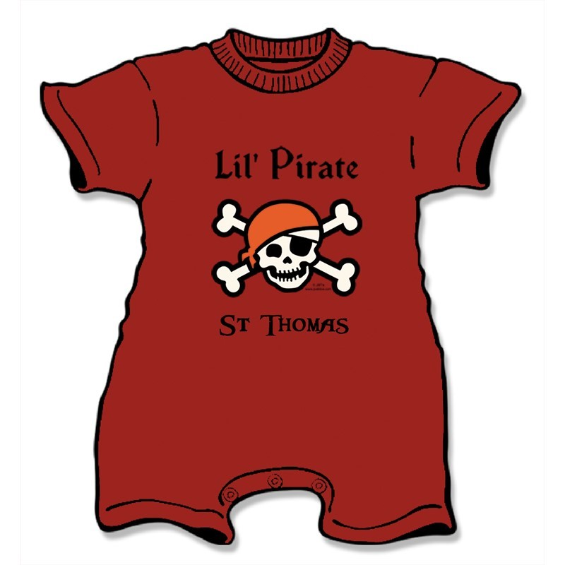 LIL' PIRATE POOP DECK | Joe Blow Tees