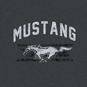 MUSTANG PONY STRIPED TEE
