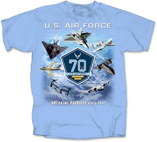 AIR FORCE 70th ANNIVERSARY BREAKING BARRIERS SINCE 1947