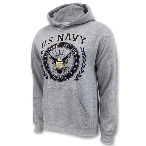 NAVY SINCE 1775 LAUREL LEAF