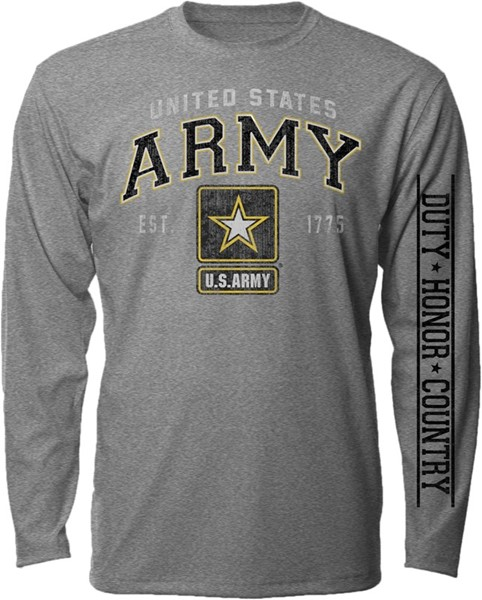 ARMY VINTAGE BLOCK LONG SLEEVE