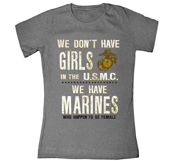 Marines Who Happen to be Female