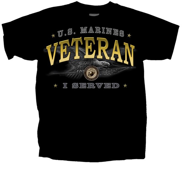 Veteran Marines Eagle- I served