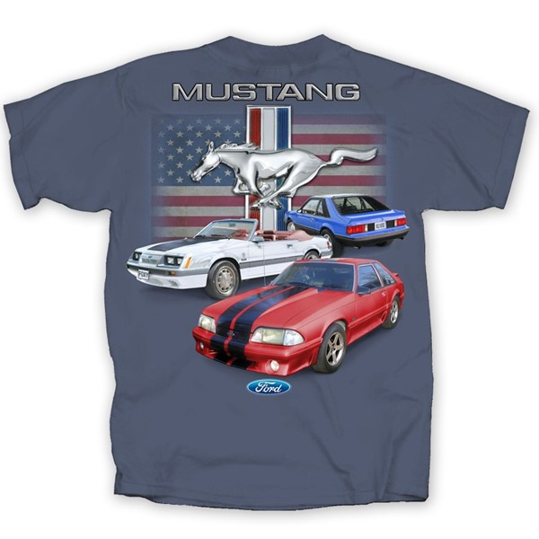 FOX BODY MUSTANG FLAG