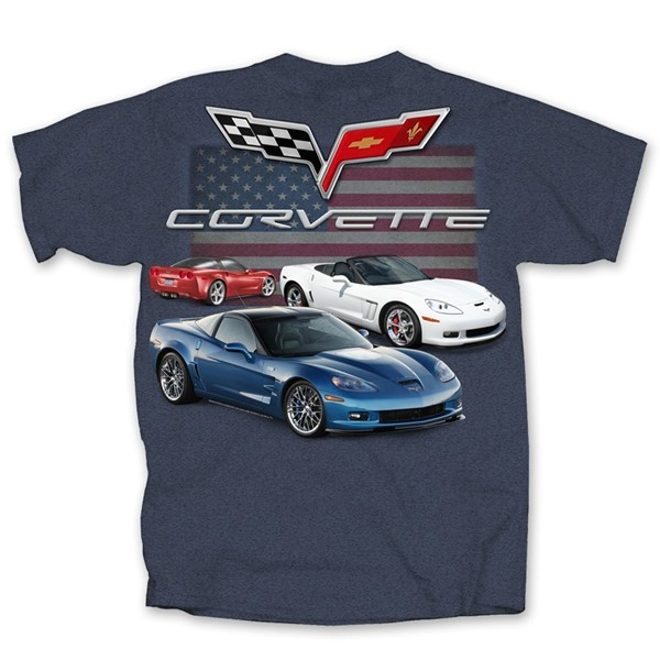 C6 CHEVY CORVETTE FLAG