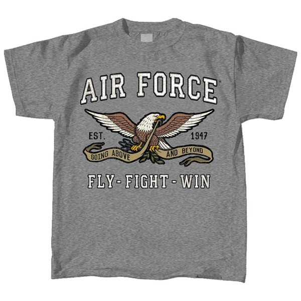 Air Force Retro Mascot Tee