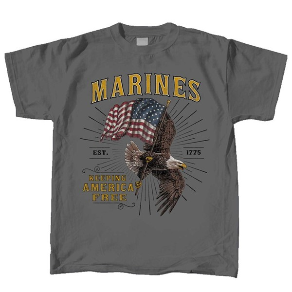 Marines Eagle Flag