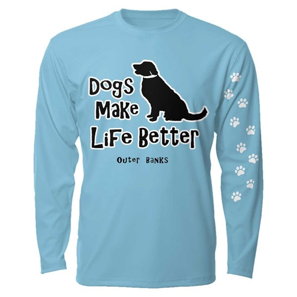 DOGS MAKE LIFE BETTER LS